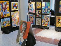 Max Kuba, Meik Heinzel, Gemälde