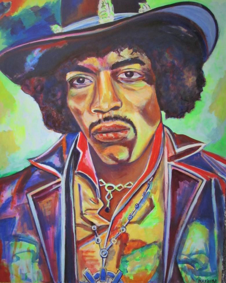 Jimi Hendrix, Portrait, € 1.180,-